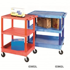 Plastic Coloured Service Trolleys GI851L