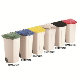 100 Litre Colour Coded Recycling Bins SK30638