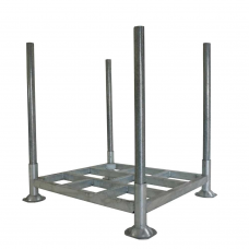 Small Heavy Duty Galvanised Demountable Post Pallet