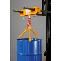 3-Pronged Vertically Operated Drum Lifter DLS360