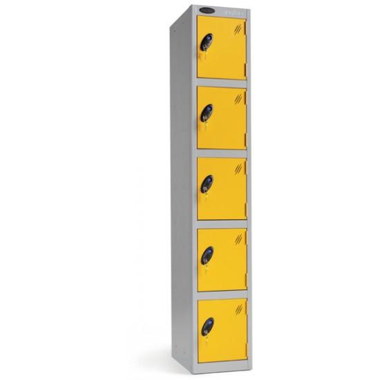Probe Five Door Steel Lockers P701212/5