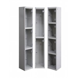 Perspex Door Vision Lockers