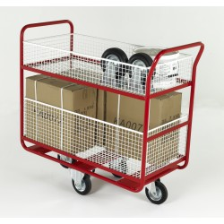 Mesh Basket Distribution Trolley BT106