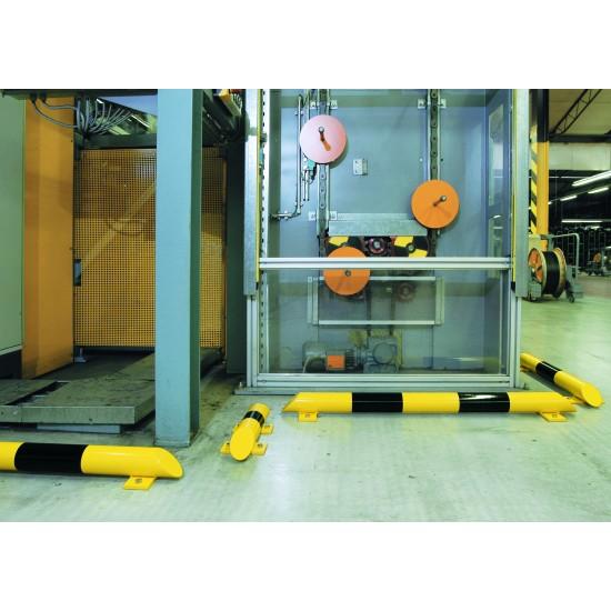 Black Bull Floor Mounted Collision Protection Bars