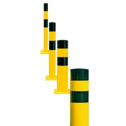 Black Bull Heavy Duty Surface Mounted Bollards