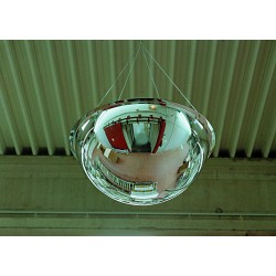 Panoramic 360 Full Hemisphere Dome Mirrors