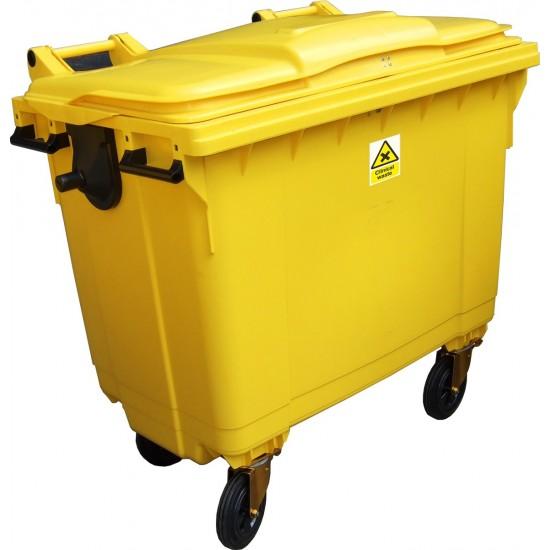 Clinical Waste Wheelie Bins