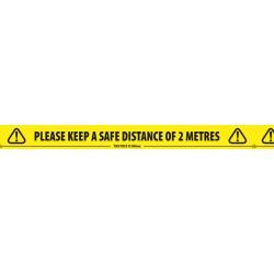 Please Keep 2m Floor Tape