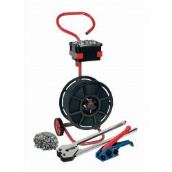 Starter Kit (Polypropylene Strapping, Tension & Sealer + Seals) With Mobile Dispenser PPSK10