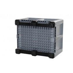 660 Litre Solid Plastic Box Pallets Grey