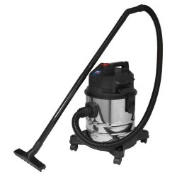 Low Noise Wet & Dry 20L 1000W Stainless Vacuum CLeaner PC20LN