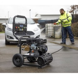 Petrol Driven 6.5hp 220 Bar Self Priming Pressure Washer PWM2500SP