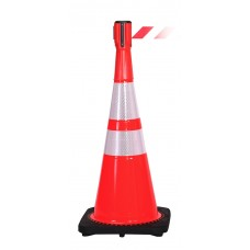 Traffic ConePro 500 Safe And Portable Cone Mounted 3.65m Retracting Belt Unit