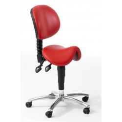 Dental Upholstered Saddle Stool SA.BR