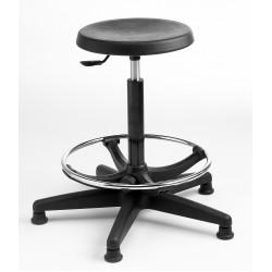 Polyurethane Adjustable Base Hygienic Posture Stool S2-H