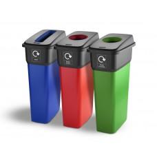 55 Litre IML Finish Recycling Bins