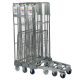 3 Sided Nestable Roll Container 19.A116