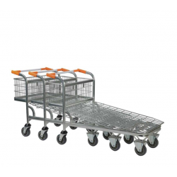 Nesting Wire Mesh Base Cash And Carry Truck