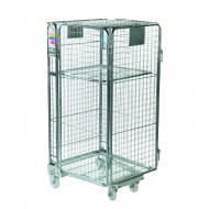 4 Sided Security Roll Container With Lid 19.A110