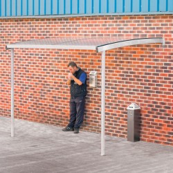 Wall Mounted Smoking Shelter
