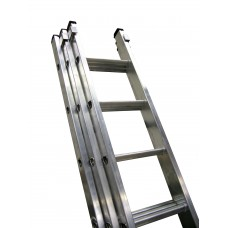 General Duty 3 Section Aluminium Ladders GT320