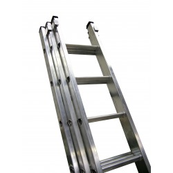 General Duty 3 Section Aluminium Ladders GT320