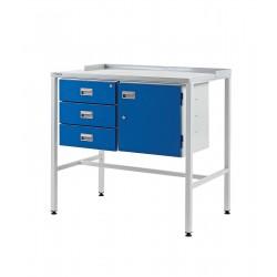 Team Leader Workstations (Triple Drawer + Cupboard Type)