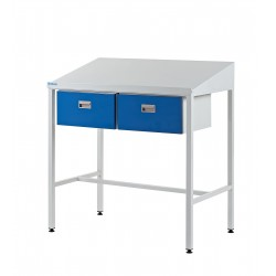 Team Leader Workstations (2 x Single Drawer Type)