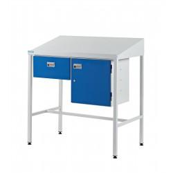 Team Leader Workstations (Single Drawer + Cupboard Type)