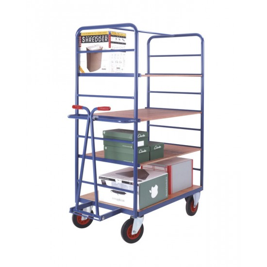 Shelf Truck With Drawbar Handle