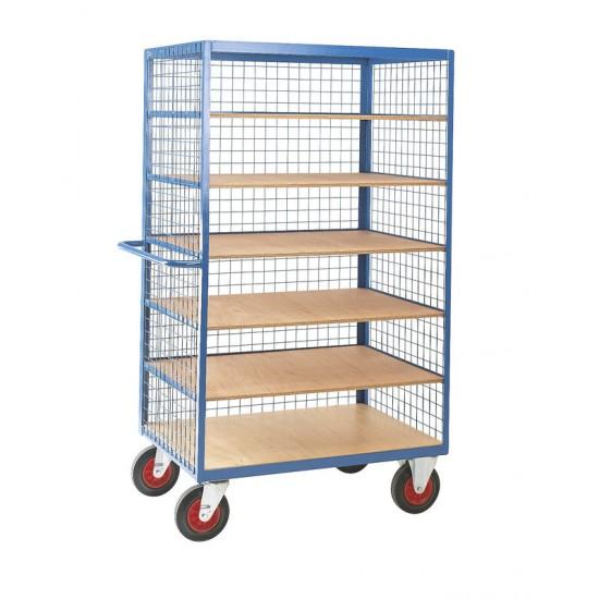 Mesh Enclosed Shelf Truck