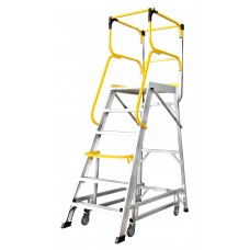 Werner 13406 Mobile Safety Platform Step (6 Tread)