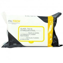 Paltech Glass, Tile & Stainless Steel Wipes