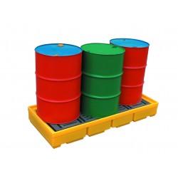 Polyethylene 3 Drum Spill Pallet PP3