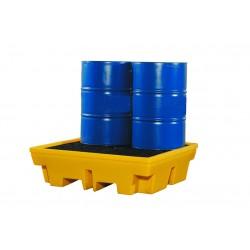Polyethylene 4 Drum Spill Pallet PP4